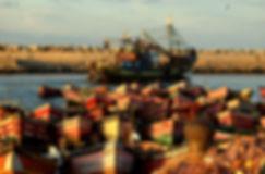 départ de pêche à el Jadida au Maroc
