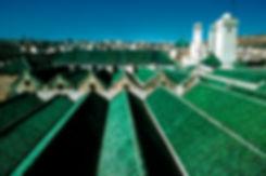 Les toits de la Karaouine à Fès