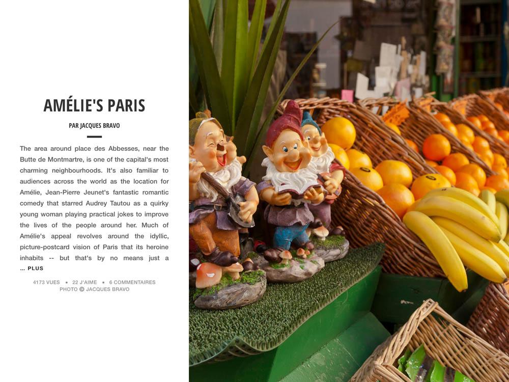 LE PARIS D'AMÉLIE POULAIN