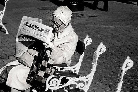 Une bourgeoise Hongroise à Budapest