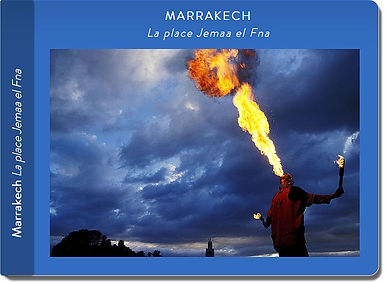 carnet de voyage Marrakech