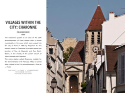 VILLAGES WITHIN THE CITY: CHARONNE