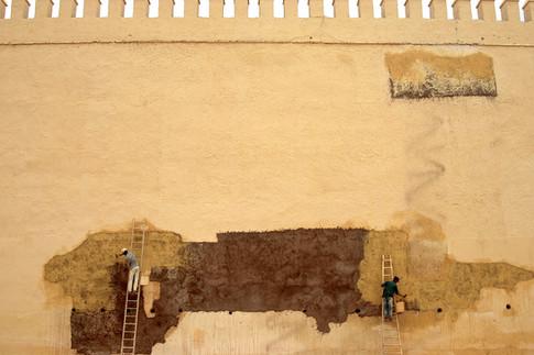 Mur de Fès, Maroc