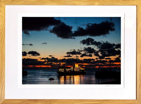 L' arrivée au port du Havre
