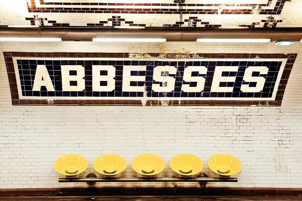 métro Abbesses