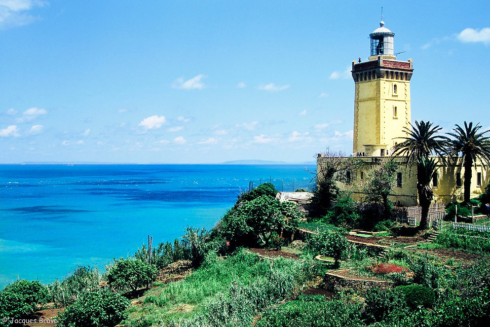 Le phare du cap Spartel près de Tanger