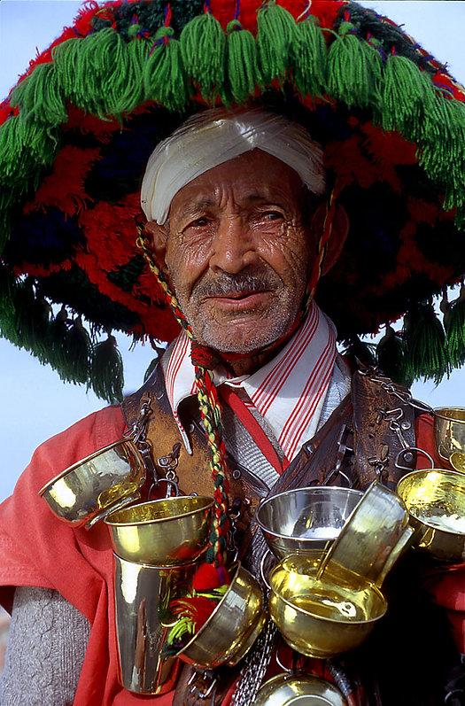 Porteur d'eau à Marrakech