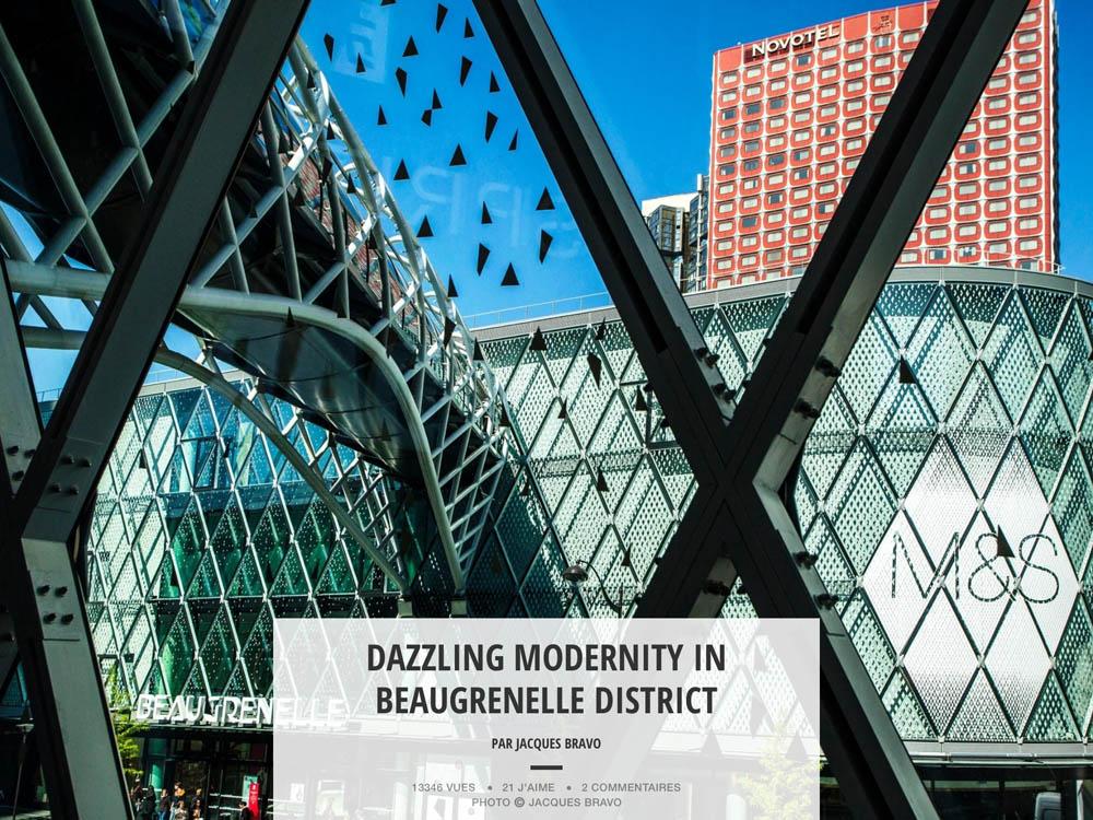 DAZZLING MODERNITY IN BEAUGRENELLE