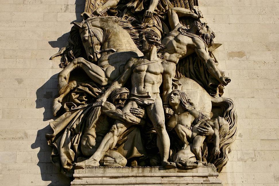 La Résistance de 1814, Arc de Triomphe