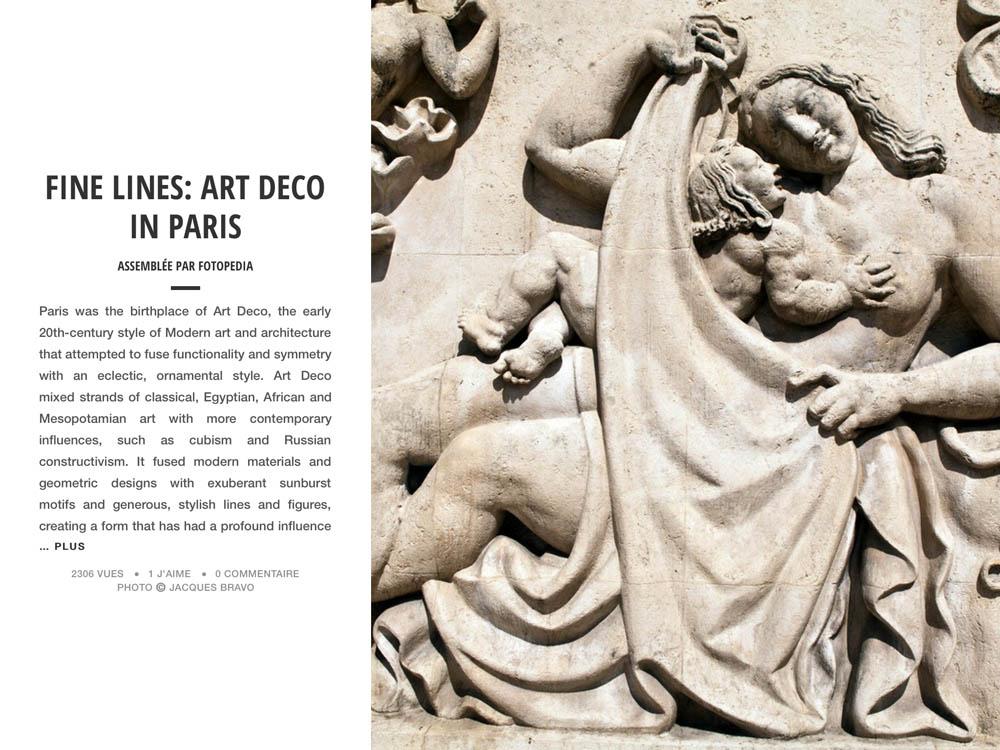 FINE LINES: ART DECO IN PARIS