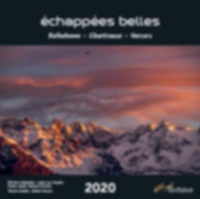 Calendrier Échappées Belles Belledonne - Chartreuse - Vercors
