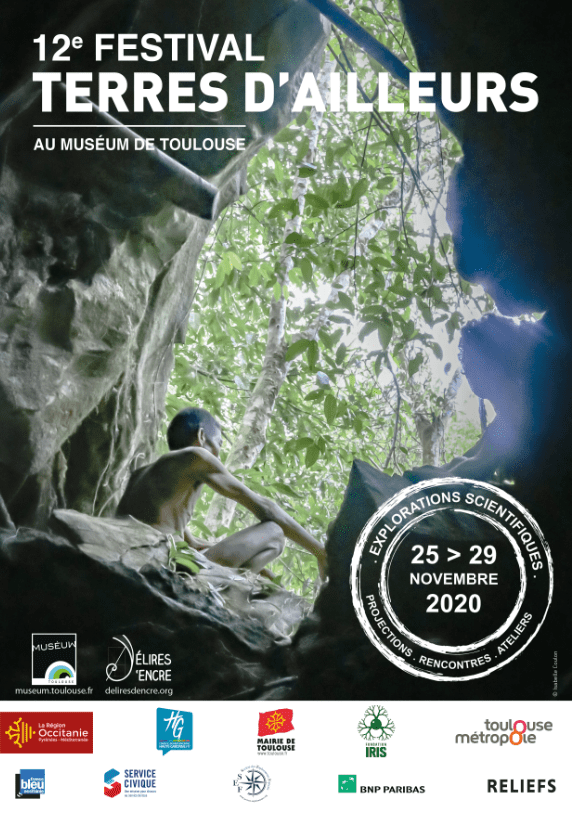 12e festival terres d'ailleurs, Fondation Iris, muséum de Toulouse, homme des bois