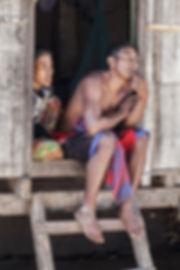 les habitants de l'Ile de Besar, petites iles de la Sonde, Indonésie, Jacques Bravo