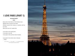 I LOVE PARIS (PART 1)