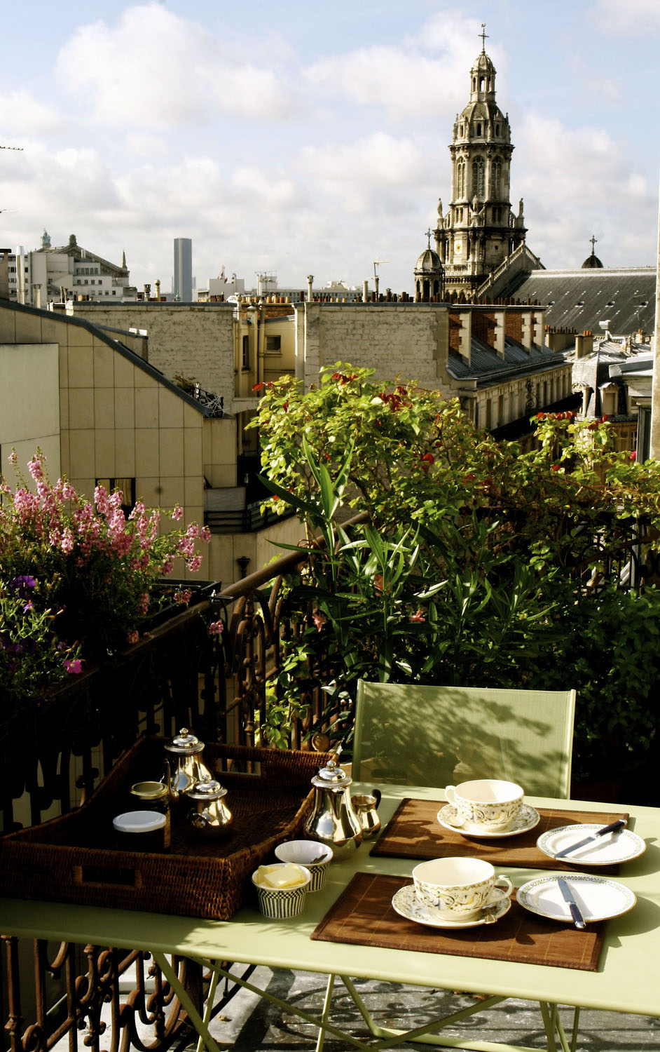 Breakfast on the terrace