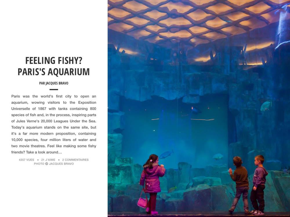 FEELING FISHY? PARIS'S AQUARIUM