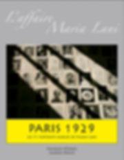 Couverture de l'affaire Maria Lani par jacques Bravo et François Pedron