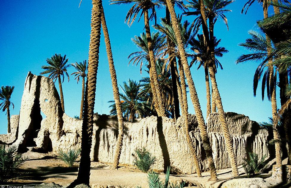 Un village abandonné de Figuig, Maroc. Jacques Bravo