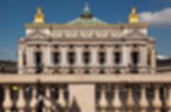 L'opéra Garnier vue depuis l'avenue de l'Opéra