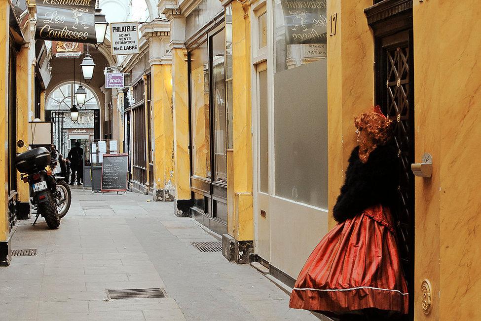Le passage des Panoramas. Paris