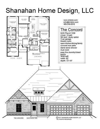 The Concord 3030 sqft
