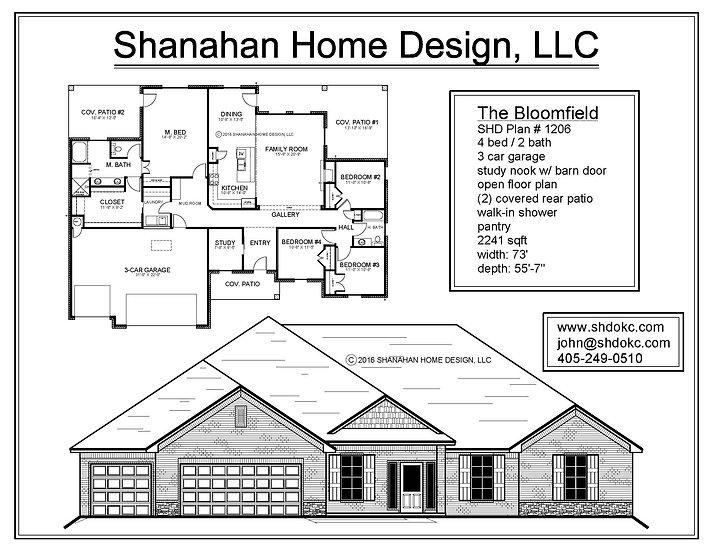 The Bloomfield 2241 sqft
