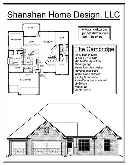 The Cambridge 2420 sqft