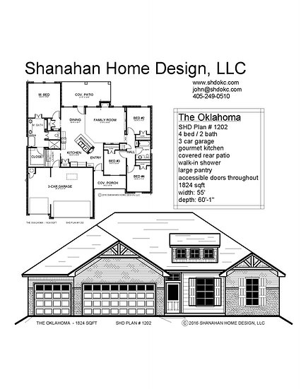 The Oklahoma 1824 sqft