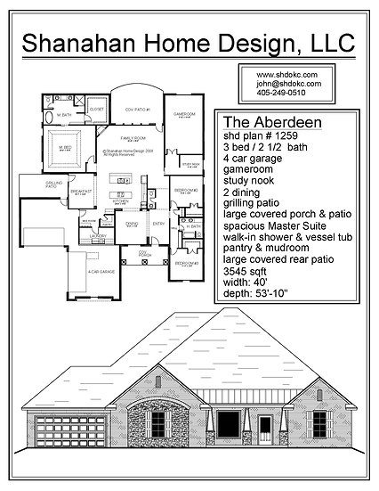 The Aberdeen 3545 sqft