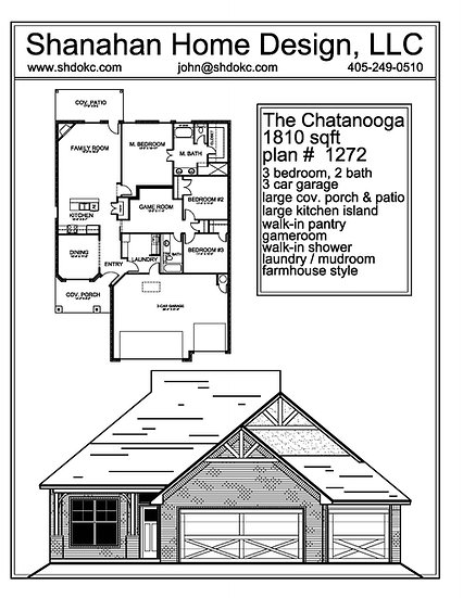 The Chatanooga 1810 sqft