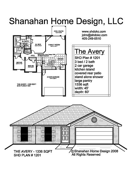 The Avery 1336 sqft