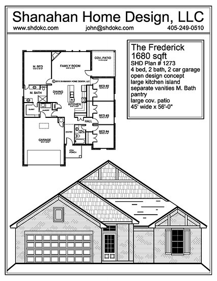 The Frederick 1680 sqft