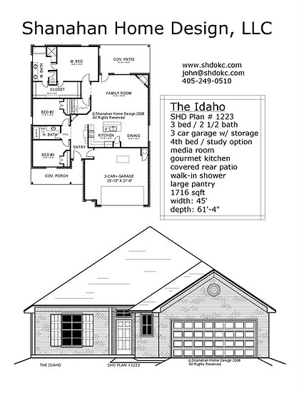 The Idaho 1716 sqft