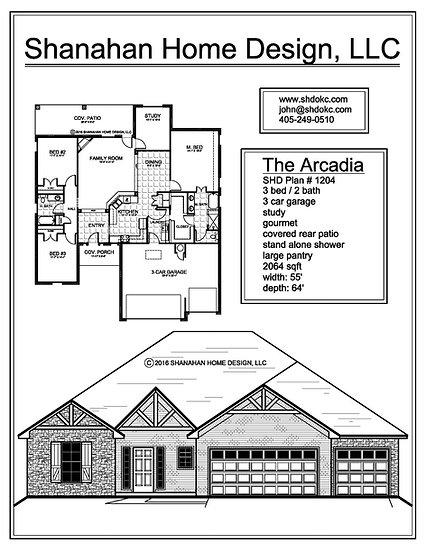 The Arcadia 2064 sqft