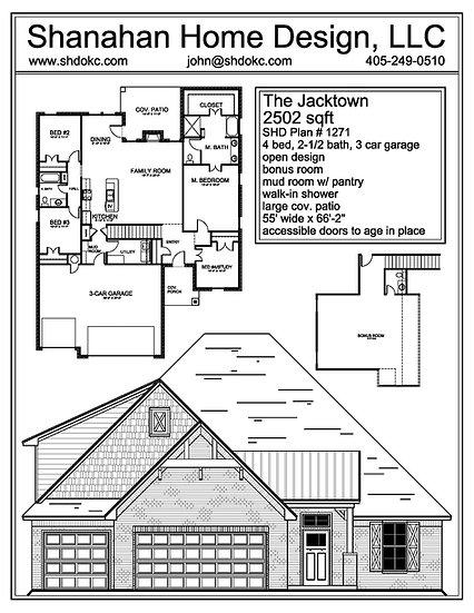 The Jacktown 2502 sqft