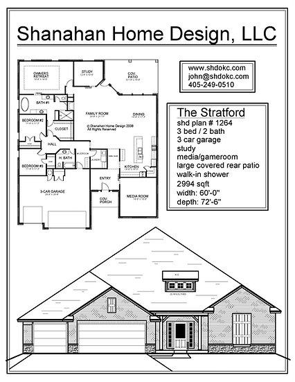The Stratford - 2994 sqft