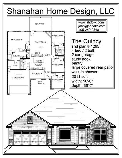 The Quincy - 2011 sqft