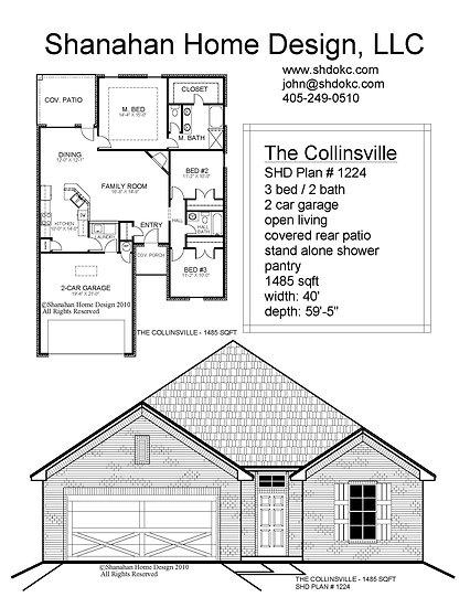 The Collinsville 1485 sqft