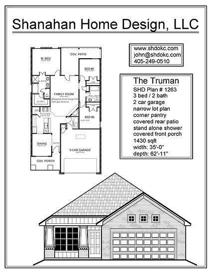 The Truman - 1430 sqft