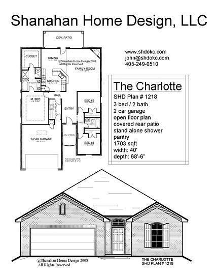 The Charlotte 1703 sqft
