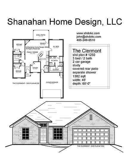 The Clermont 1382 sqft