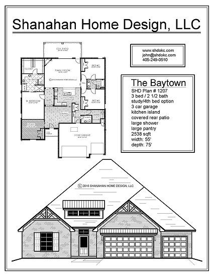 The Baytown 2538 sqft