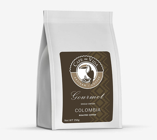 250g Bag Premium Colombian Coffee (Ground)