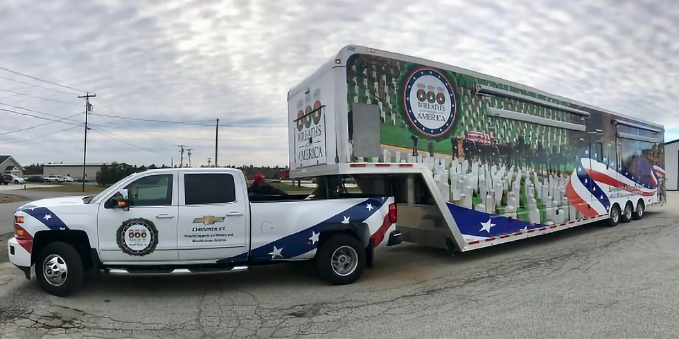 Wreaths Across America Mobile Education Exhibit