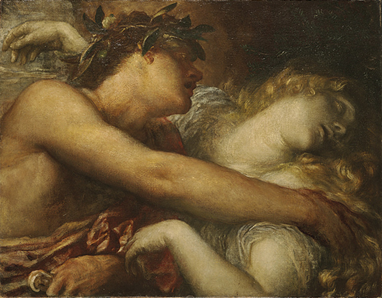 Orpheus and the Nymph