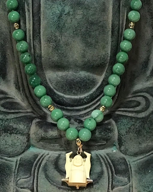 jade and vintage ivory