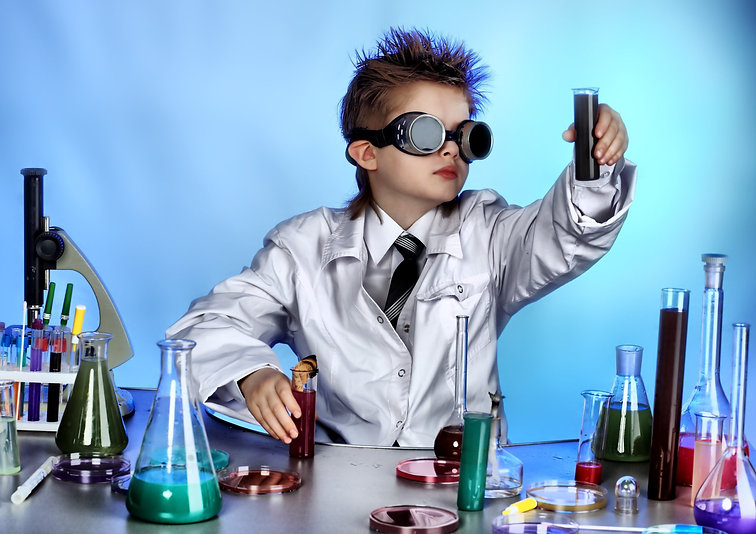 kids love science and math camps at Easy as Pi Mathematics