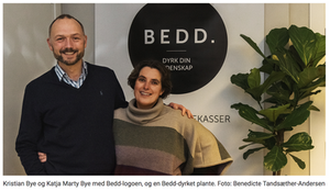 Team BEDD v. Kristian Bye og Katja Marty Bye