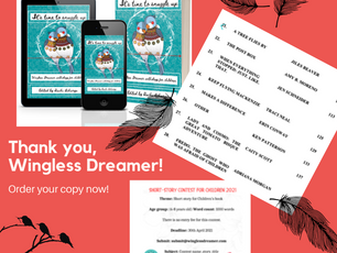 """Wingless Dreamer Releases """"It's Time to Snuggle Up"""""""