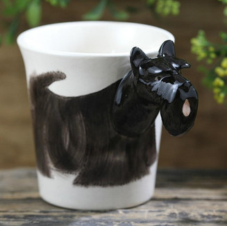 Dog lovers will bark over these breed specific coffee mugs.  This is a must have for Scottish Terrier pet parents.